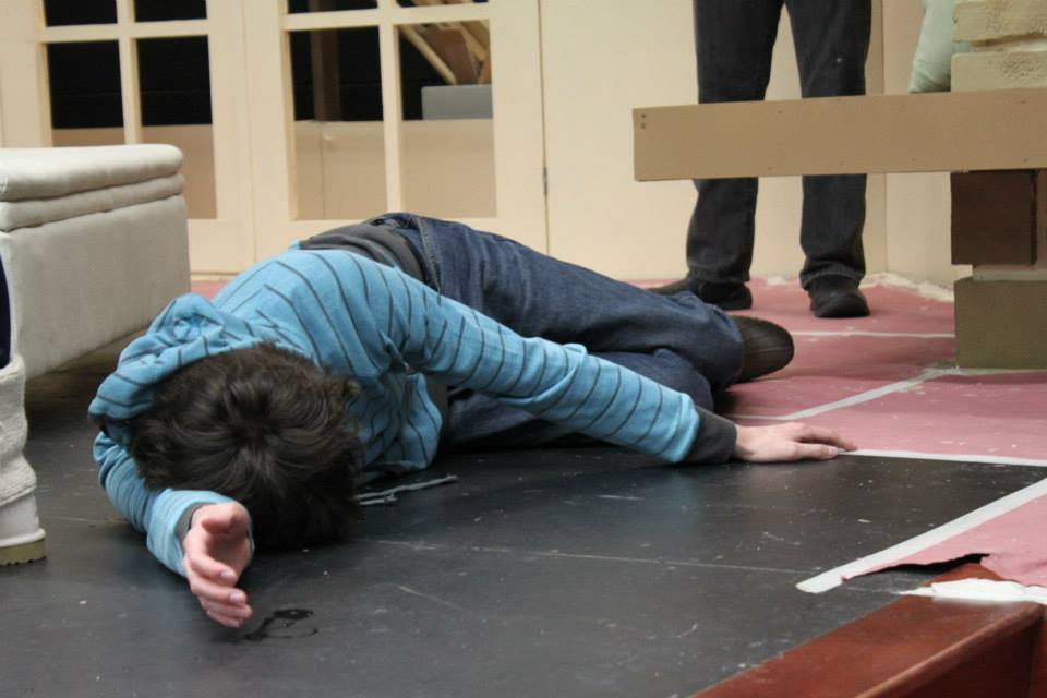 The+bodies+fall+thick+and+fast+in+the+Cambridge+spring+production+of+Agatha+Christie%27s+%E2%80%9CAnd+Then+There+Were+None.%E2%80%9D+The+play+runs+Feb.+27-March+2.+PHOTO+BY+DANIELLE+REMMEN