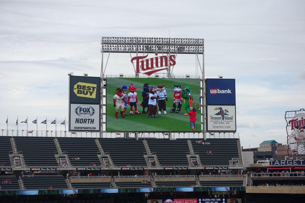 The Campus Eye Reports from the Minnesota Twins' Press Box