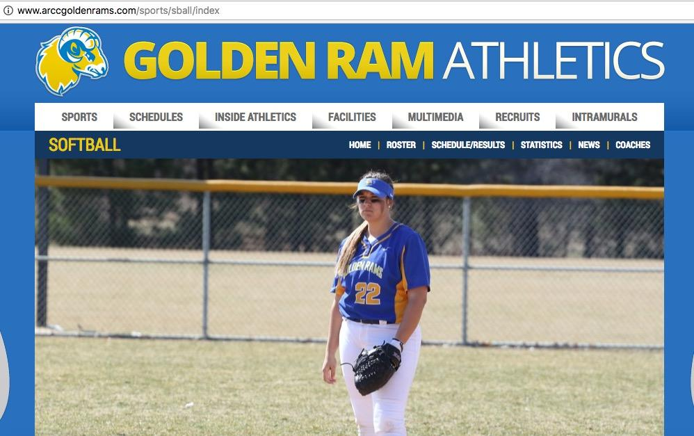 Arccgoldenrams.com has a full schedule of ARCC sports events.