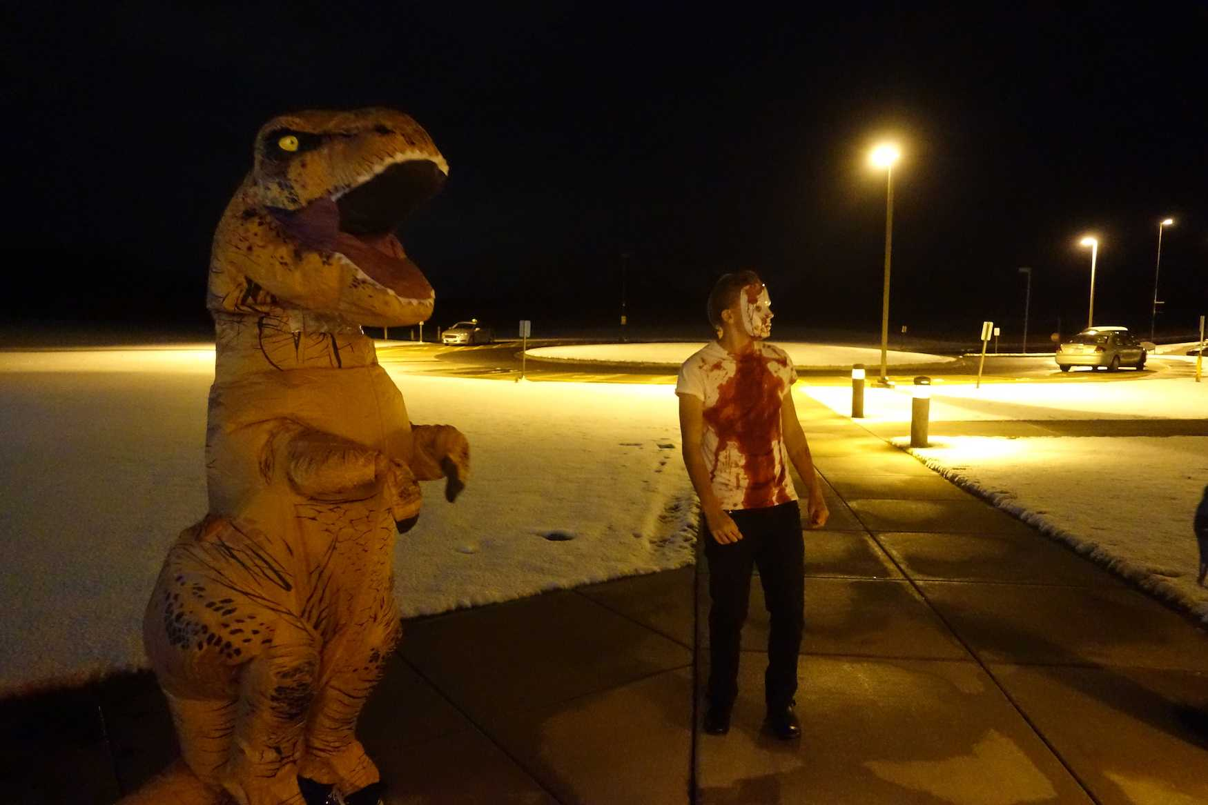 Frightful Student Shenanigans at Annual Planet Halloween Dance