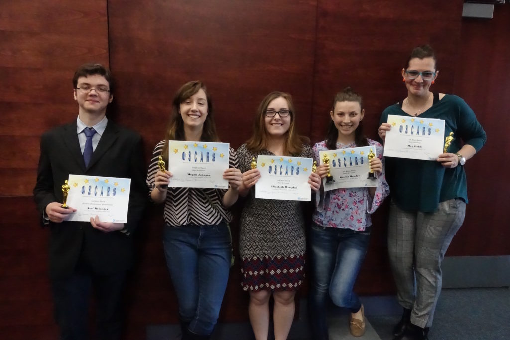 Outstanding Scholarship, Creative Activities and Research Symposium on Display at Cambridge